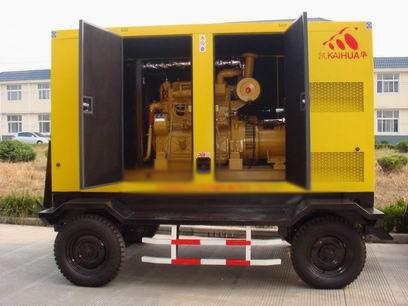 濮阳应急发电机-300kw移动静音发电机组