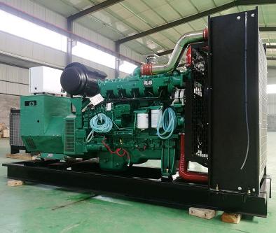 濮阳马村县泰豪500kw大型柴油发电机组