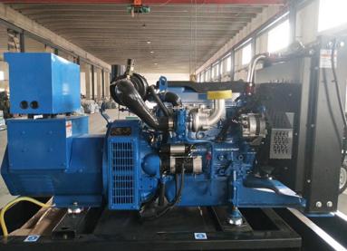 濮阳马村县泰豪200kw大型柴油发电机组