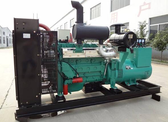 濮阳华龙二手潍柴400kw大型柴油发电机组