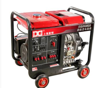 濮阳华龙二手上柴8kw小型柴油发电机